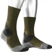 Falke Herren Socken Trekking Socken Microfaser grau-khaki grau,beige