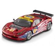 Elite Ferrari 458 Italia GT2 #61 LM 2012 AF Corse Sebring 1/18 by Hotwheels BCT78