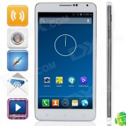 "W550 MTK6582 Quad-core 4.2.2 Android Phone WCDMA Bar w / 5.5 ""IPS, FM, WiFi et GPS - blanc"