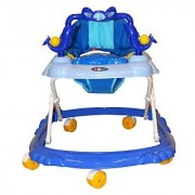 BayBee Shoppee Baby Land Walker (with Music and light) Blue 2900725