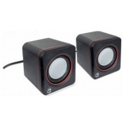 Sistem audio 2.0 Manhattan 6W Black