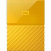 HDD extern WD My Passport Ultra NEW, 2TB, 2.5, USB 3.0, yellow