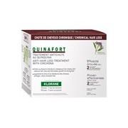 Quinafort tratamento anti-queda 12ampolasx5ml - Klorane