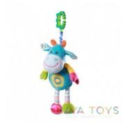 Бебешка играчка кравичка Babyono 1135