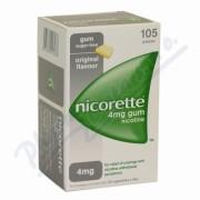 Nicorette Classic Gum 4mg Orm Gum Mnd 105x4mg SD
