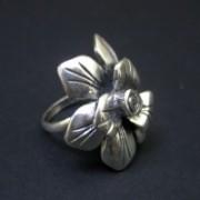 Anel de Prata Flor