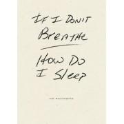If I Don't Breathe How Do I Sleep by Joe Wenderoth