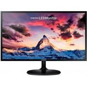 "Monitor LED Samsung 23.5"" LS24F350FHUXEN, Full HD (1920 x 1080), HDMI, VGA, 4 ms (Negru) + Lantisor placat cu aur cu pandantiv in forma de lup de mare"