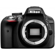 "Nikon D3300 Cámara réflex digital de 24.2 Mp (pantalla LCD de 3"", grabación de vídeo Full HD), color negro [Versión EU]"
