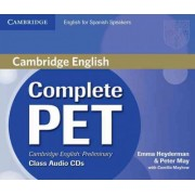 Complete PET for Spanish Speakers Class Audio CDs by Emma Heyderman