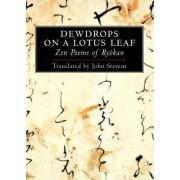 Dewdrops on a Lotus Leaf by Ryokan