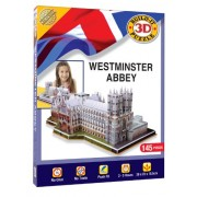Build Your 3D Own Westminster Abbey Model Jigsaw Puzzle
