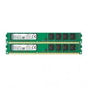 Kingston KVR16N11K2/16 Memoria RAM da 16 GB, 1600 MHz, DDR3, Non-ECC CL11 DIMM Kit (2x8 GB), 240-pin, 1.5 V