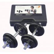 Get Fit 20 kg Gewichte Set + Plastik Box
