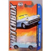 2013 Matchbox MBX Adventure City - Chevy Bel Air Convertible by Mattel
