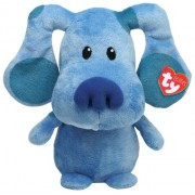 Ty Pluffies Blue Blues Clue Nickelodeon Plush Soft Toy Blue