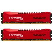 Kingston DDR3 16GB 2400 CL11 HyperX Savage Red Kit (HX324C11SRK2/16)