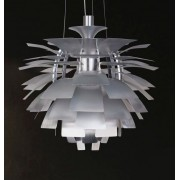 Lámpara De Diseño Colgante 48cm Inspirada En Poul Henningsen