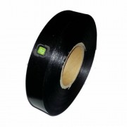 Banda de satin negru pentru etichetare 30mm