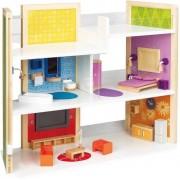 poppenhuis - DIY dream house - met magnetische meubels