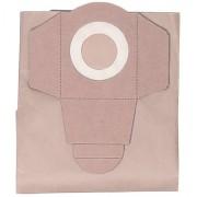 Einhell - Pack de 5 bolsas para aspiradora (30 litros, aspirado en húmedo y seco) color gris