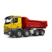 Bruder 3623 - MB AROCS Camion Ribaltabile Movimento Terra