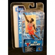 McFarlane Toys NBA 3 Inch Sports Picks Series 4 Mini Figure Ben Wallace 2 (Chicago Bulls)