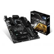 Micro-Star International Msi Intel H270 Pc Mate Lga 1151 Atx Motherboard