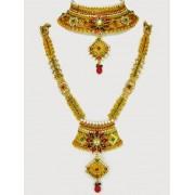 Polki Bridal Necklace Sets - 69955 (SD-12)