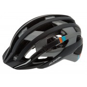 Alpina e-Helm Deluxe Casco grigio/nero Caschi city bike e trekking