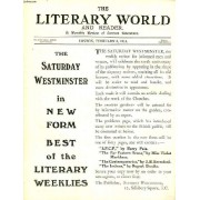 The Literary World And Reader, A Monthly Review Of Current Literature, Vol. Lxxx, N° 1948, Feb. 1914