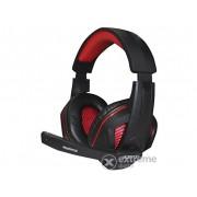 Căști APPROX APPGH7R Gaming Headset, negru/roșu