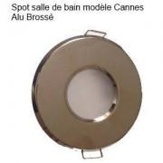 HIPOW destock Spot Salle de Bain et douche ALU Brossé Cannes IP44
