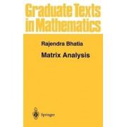 Matrix Analysis by Rajendra Bhatia