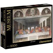 Clementoni - 31447.8 - Puzzle Collection High Quality - 1000 Pièces - La Cène - De Vinci