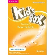 Kid's Box Starter Teacher's Resource Book with Online Audio: Starter by Kathryn Escribano