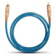 Oehlbach 10701 NF 113 Câble numérique 1,50m Bleu/Transparent