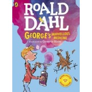George's Marvellous Medicine (Colour Book and CD) by Roald Dahl