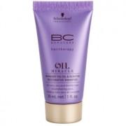 Schwarzkopf Professional BC Bonacure Oil Miracle Barbary Fig Oil champô renovador para cabelo seco e danificado 30 ml