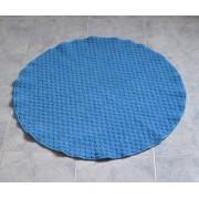 *Doppio Riccio rotondo tappeto bagno diametro cm 80