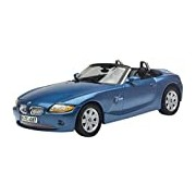 "Motormax GOTZMM73144MB 1:18 Scale Metallic Blue ""BMW Z4"" Die Cast Model Car"