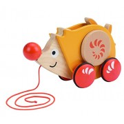 Hape E0350 - Riccio Trainabile, Multicolore