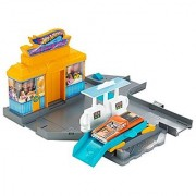 Hot Wheels City Pit Stop Station Playset