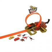 Dickie Toys 203757000 - piste da corsa Dino Loop americano, auto e mezzi Modelli