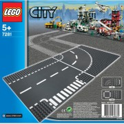LEGO City: T-junction and Curve (7281)