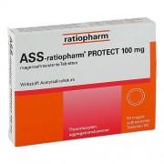 ratiopharm GmbH ASS ratiopharm Protect 100 mg magensaftr.Tabletten 50 St