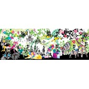 52-146 town of flow of the master wide size 420 small piece of the puzzle sound (japan import)