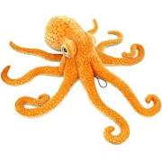 Jesonn Giant Realistic Stuffed Marine Animals Soft Plush Toy Octopus Orange 33.5 or 85CM 1PC