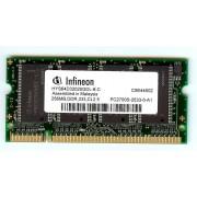 Infineon - Memoire - 256 Mo - SO DIMM - DDR - 333 MHz - PC2700S - CL2.5
