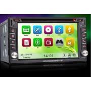 """6.2"""" HD Érintőkijelzős Autós DVD 2 DIN fejegység beépített GPS vevővel"""